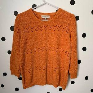 🔥30%OFF🔥Jones New York Sport orange sweater L